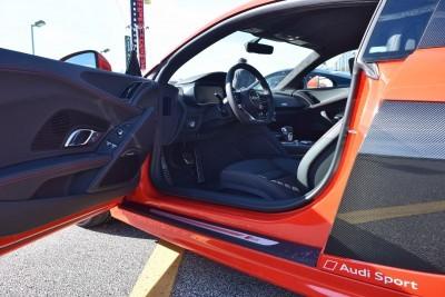 2017 Audi R8 V10 Dynamite Red 11