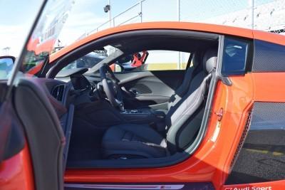 2017 Audi R8 V10 Dynamite Red 12