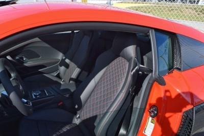 2017 Audi R8 V10 Dynamite Red 13