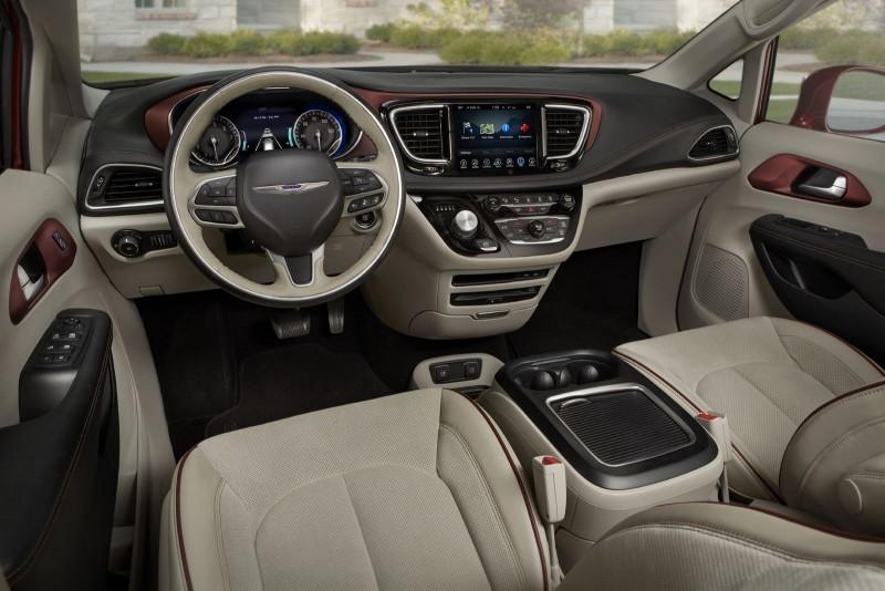 2017 Chrysler PACIFICA Interior Photos 1