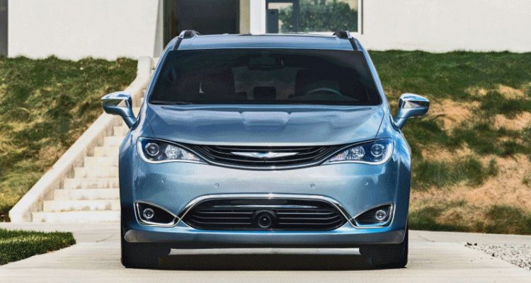 2017 Chrysler PACIFICA animation