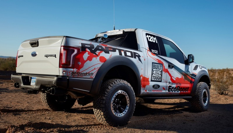 2017 FORD F-150 RAPTOR Baja Preview 20
