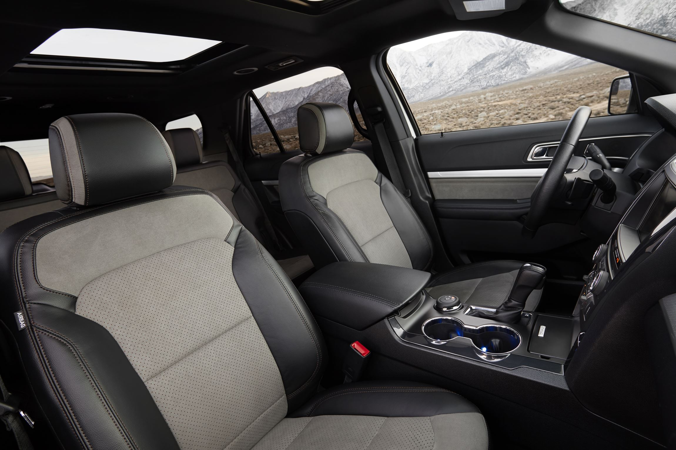 as suv demand grows ford expands popular explorer line with new xlt sport appearance package for 2017 - 2015 Ford Explorer Xlt Interior