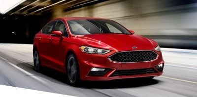 2017 Ford Fusion V6 Sport 1