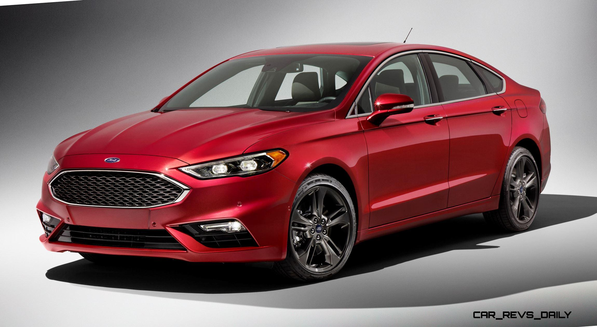 325hp v6tt 2017 ford fusion sport leads refreshed midsize sedan lineup. Black Bedroom Furniture Sets. Home Design Ideas