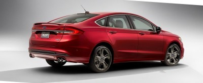 2017 Ford Fusion V6 Sport 5