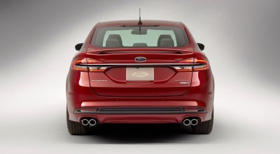 2017 Ford Fusion V6 Sport 7