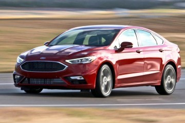 325HP, V6TT 2017 Ford FUSION SPORT Leads Refreshed Midsize Sedan Lineup