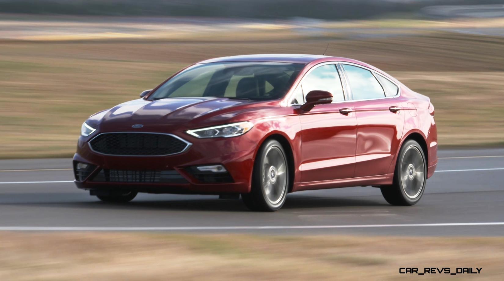 325HP, V6TT 2020 Ford FUSION SPORT Leads Refreshed Midsize Sedan ...