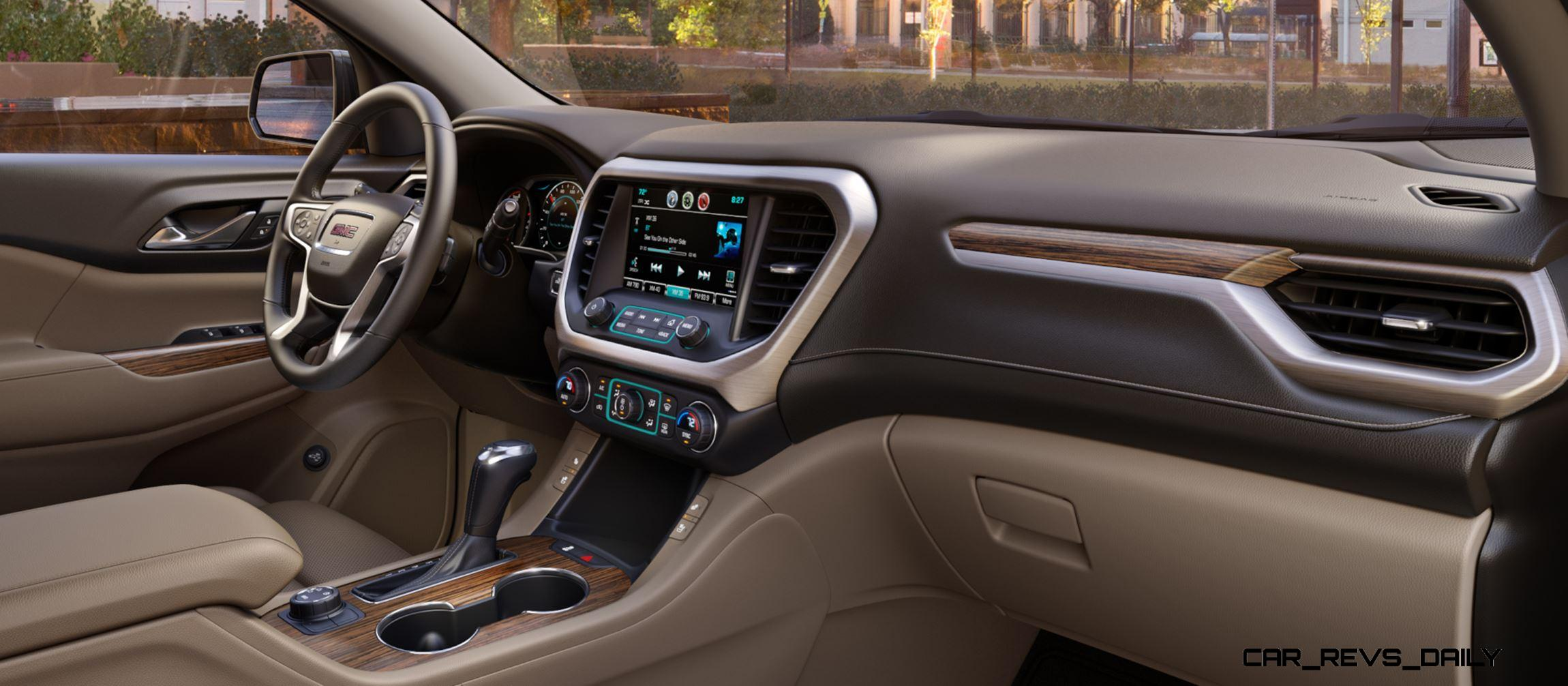 2017 Gmc Acadia Shows Radical Redesign 700lb Weight Loss New All Terrain Spec
