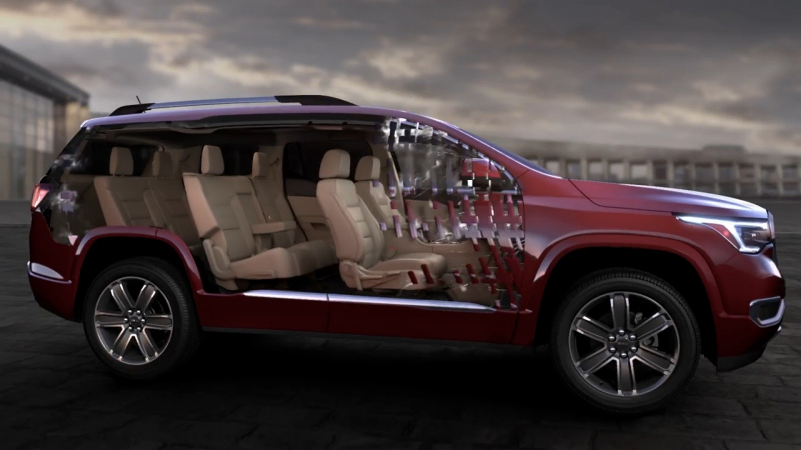 2017 GMC ACADIA Shows Radical Redesign: 700Lb Weight Loss ...