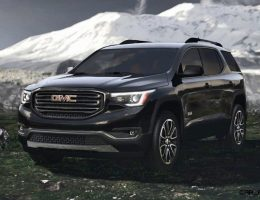 2017 GMC ACADIA Shows Radical Redesign: 700Lb Weight Loss, New All Terrain Spec