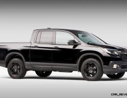 2017 Honda RIDGELINE – Challenges Mid-Size Roughriders with Smooth, Plush and Efficient Pickup Solution