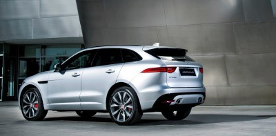 2017 Jaguar F-PACE V6S Silver Disney Center LA 13