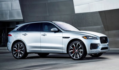 2017 Jaguar F-PACE V6S Silver Disney Center LA 14