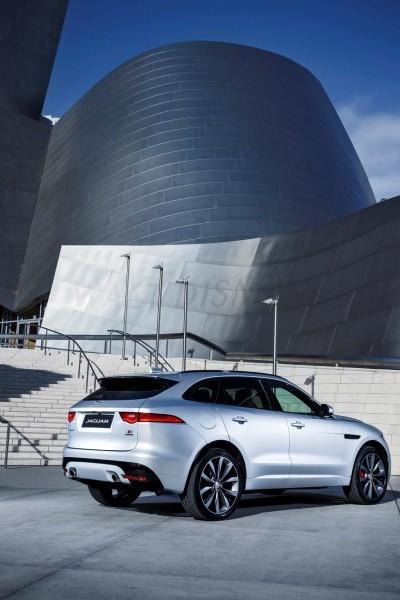 2017 Jaguar F-PACE V6S Silver Disney Center LA 16