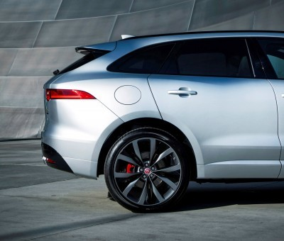 2017 Jaguar F-PACE V6S Silver Disney Center LA 18