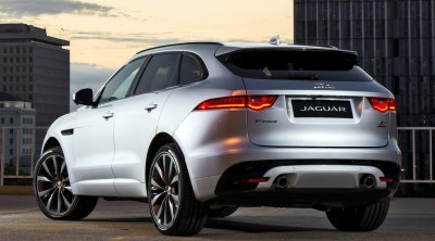 2017 Jaguar F-PACE V6S Silver Disney Center LA 2