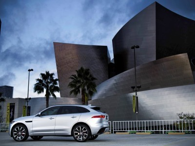 2017 Jaguar F-PACE V6S Silver Disney Center LA 5