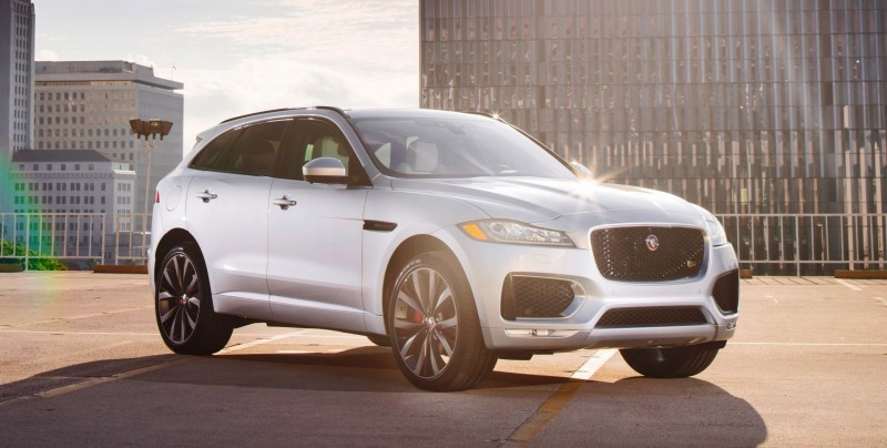 2017 Jaguar F-PACE V6S Silver Disney Center LA 8