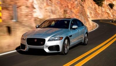 2017 Jaguar XF-S V6 - USA Media Drive 1
