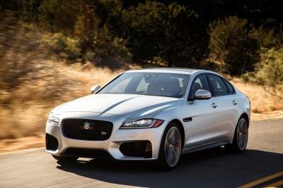 2017 Jaguar XF-S V6 - USA Media Drive 10
