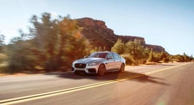 2017 Jaguar XF-S V6 - USA Media Drive 11