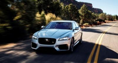 2017 Jaguar XF-S V6 - USA Media Drive 12