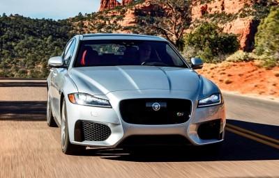2017 Jaguar XF-S V6 - USA Media Drive 13