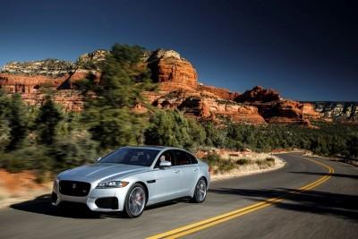 2017 Jaguar XF-S V6 - USA Media Drive 16