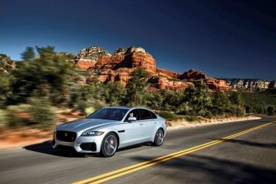 2017 Jaguar XF-S V6 - USA Media Drive 17