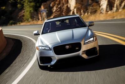 2017 Jaguar XF-S V6 - USA Media Drive 2