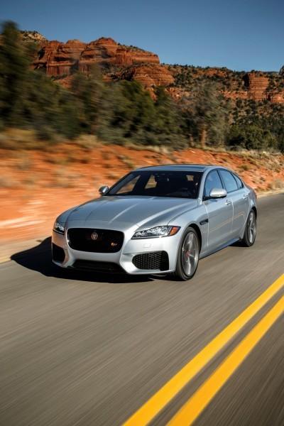 2017 Jaguar XF-S V6 - USA Media Drive 20