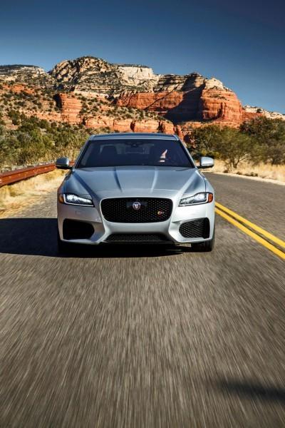 2017 Jaguar XF-S V6 - USA Media Drive 23