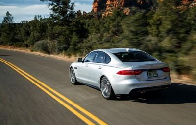 2017 Jaguar XF-S V6 - USA Media Drive 24