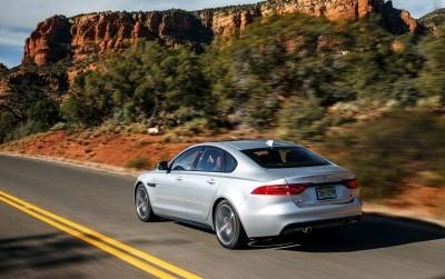 2017 Jaguar XF-S V6 - USA Media Drive 26