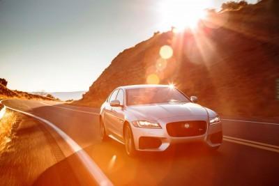 2017 Jaguar XF-S V6 - USA Media Drive 27