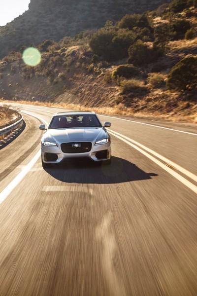2017 Jaguar XF-S V6 - USA Media Drive 29