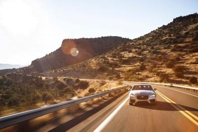2017 Jaguar XF-S V6 - USA Media Drive 30