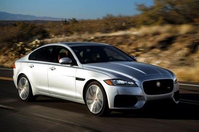 2017 Jaguar XF-S V6 - USA Media Drive 35