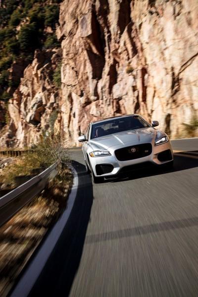 2017 Jaguar XF-S V6 - USA Media Drive 4