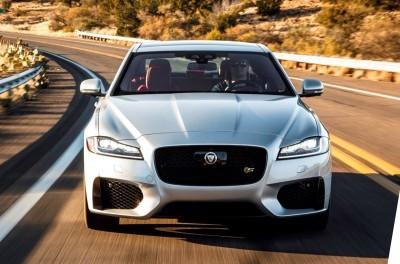 2017 Jaguar XF-S V6 - USA Media Drive 41