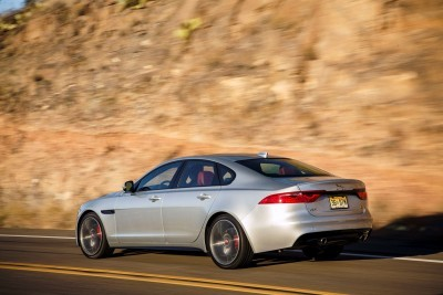 2017 Jaguar XF-S V6 - USA Media Drive 43