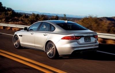 2017 Jaguar XF-S V6 - USA Media Drive 45