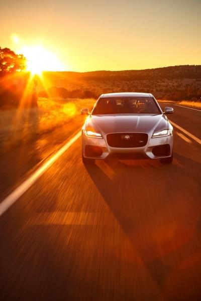 2017 Jaguar XF-S V6 - USA Media Drive 46
