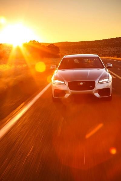 2017 Jaguar XF-S V6 - USA Media Drive 47