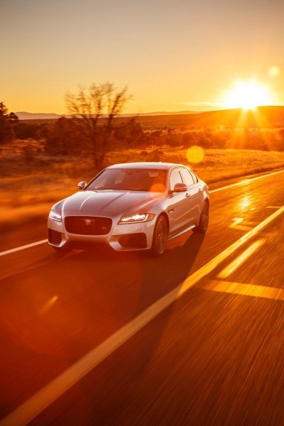 2017 Jaguar XF-S V6 - USA Media Drive 50