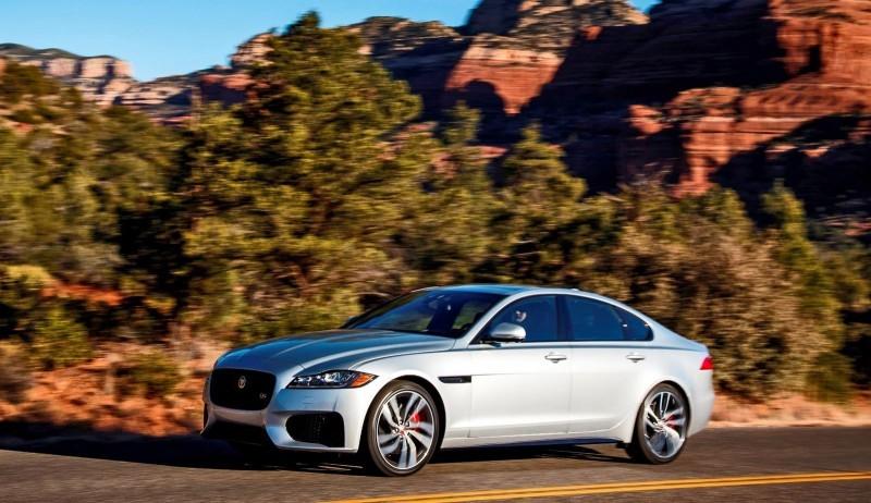 2017 Jaguar XF-S V6 - USA Media Drive 51