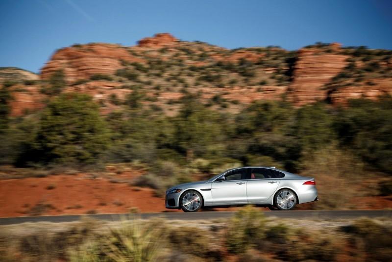 2017 Jaguar XF-S V6 - USA Media Drive 53