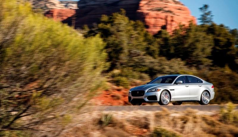 2017 Jaguar XF-S V6 - USA Media Drive 54